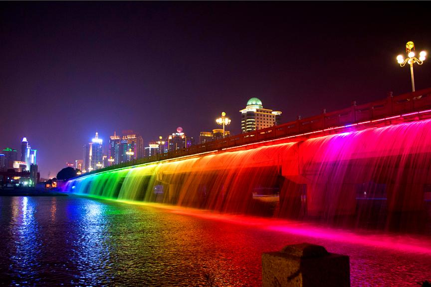 浙江嘉兴南湖彩虹桥